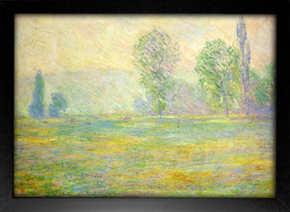 Imagem do Monet - Meadows in Giverny