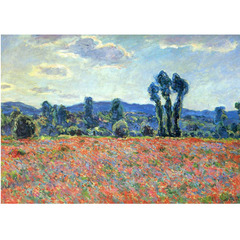 Monet - Poppy Field