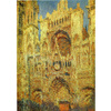 Monet - Rouen Cathedral at Sunset