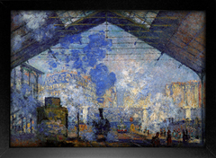 Imagem do Monet - Saint Lazare Station Sun