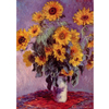 Monet - Still Life With Sunflowers