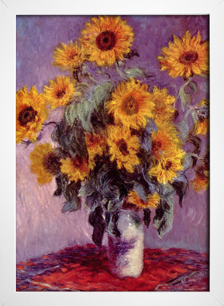 Monet - Still Life With Sunflowers - loja online