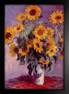 Imagem do Monet - Still Life With Sunflowers