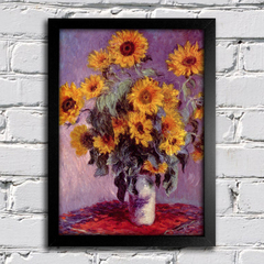 Monet - Still Life With Sunflowers - comprar online