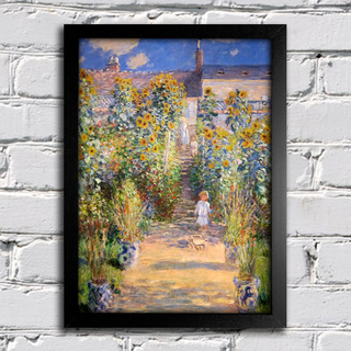 Monet - The Artist's Garden at Vetheuil - comprar online