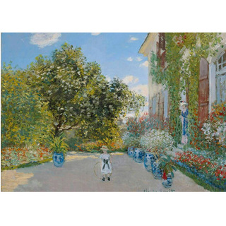 Monet - The Artist's House at Argenteuil