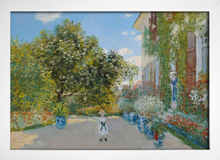 Monet - The Artist's House at Argenteuil - loja online