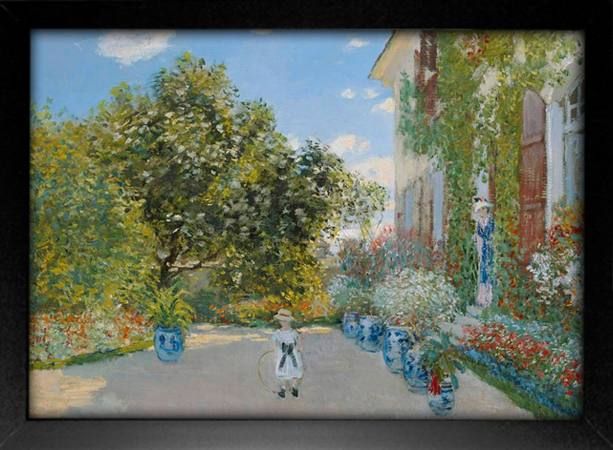 Imagem do Monet - The Artist's House at Argenteuil