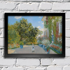 Monet - The Artist's House at Argenteuil - comprar online