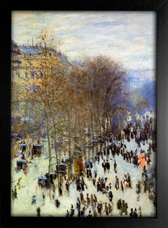 Imagem do Monet - The Boulevard des Capucines Sun