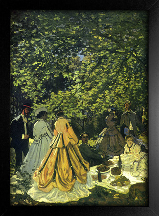 Imagem do Monet - The Picnic Le Dejeuner Sur i Herbe