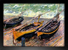 Imagem do Monet - Three Fishing Boats