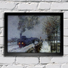 Monet - Train in the Snow - comprar online