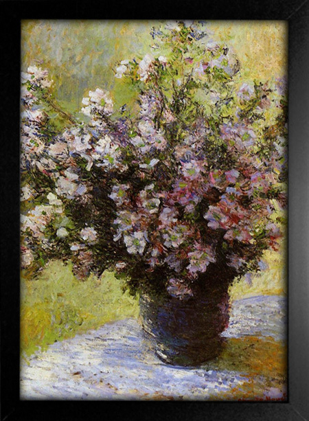 Imagem do Monet - Vase of Flowers