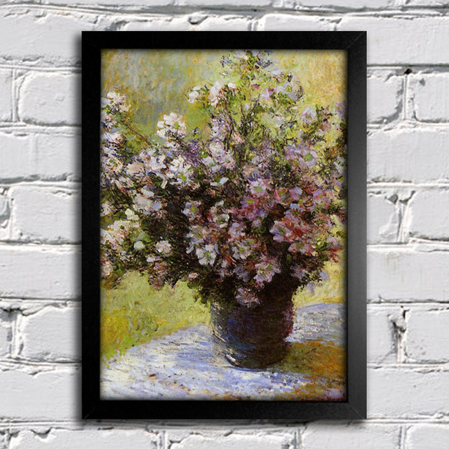 Monet - Vase of Flowers - comprar online