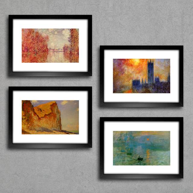 Kit Quadros Monet