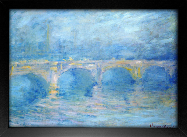Imagem do Monet - Waterloo Bridge II