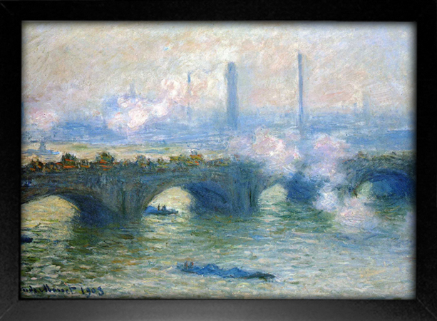 Imagem do Monet - Waterloo Bridge