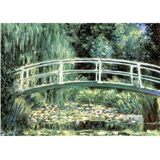 Monet - White Water Lilies