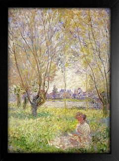 Imagem do Monet - Woman Sitting Under the Willows