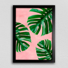 Poster Monstera Pink na internet
