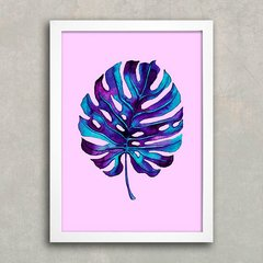 Poster Monstera Purple na internet