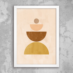 Poster Neutral Abstract II - comprar online
