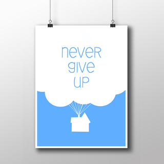 Imagem do Poster Cinema - UP - Never Give Up