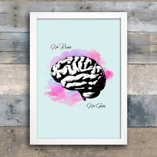 Poster No Brain No Gain