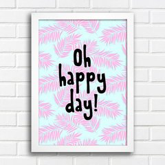 Poster Oh Happy day - comprar online