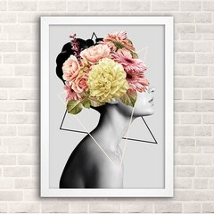 Poster Outsider - Girl in flower - comprar online
