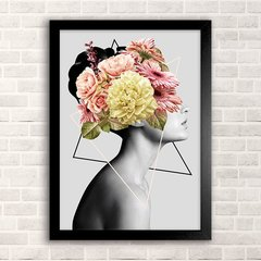 Poster Outsider - Girl in flower