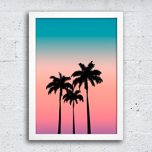 Poster Palm Trees na internet