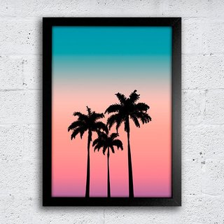 Poster Palm Trees - comprar online