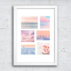 Poster Pastel Abstract