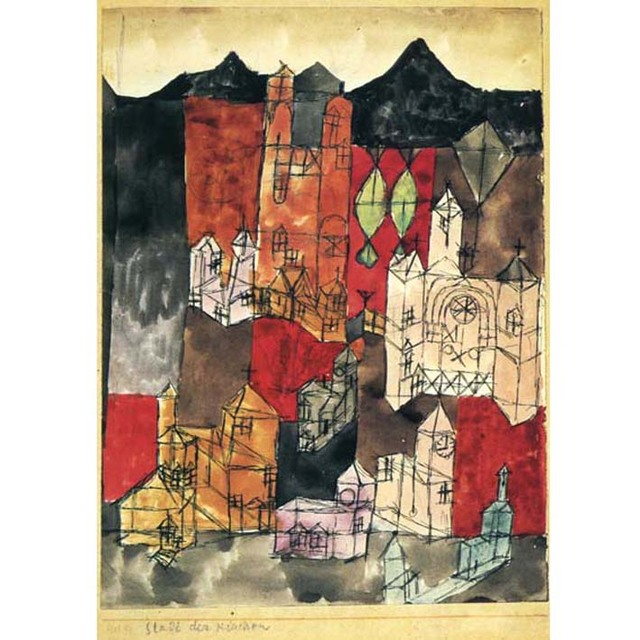 Paul Klee - City of Churches