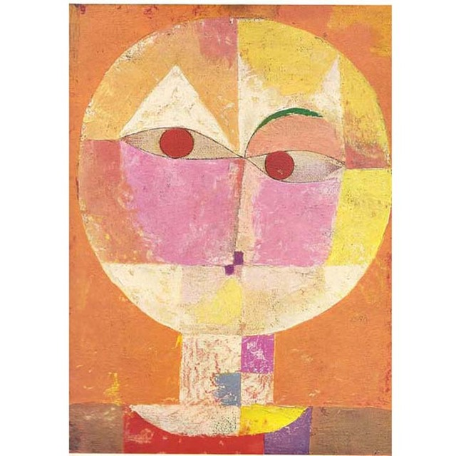 Paul Klee - Head of Man