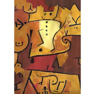 Paul Klee - Wedgehead