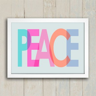 Poster Peace Colors