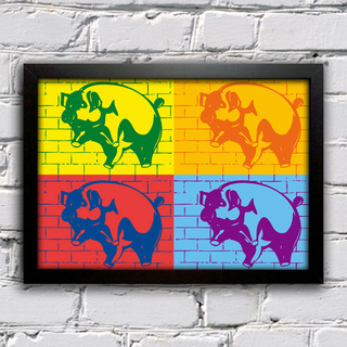 Poster Pink Floyd - Animals Pop Art - comprar online