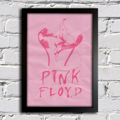 Poster Pink Floyd - Flores - The Wall