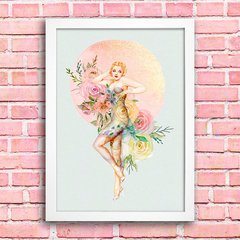 Poster Pin-up Flowers na internet
