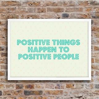 Poster Positive Things - loja online