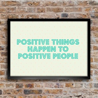Imagem do Poster Positive Things