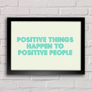 Poster Positive Things - comprar online