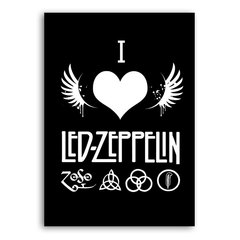 Poster I Love Led Zeppelin na internet