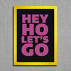 Poster Ramones Hey Ho Lets Go - Encadreé Posters
