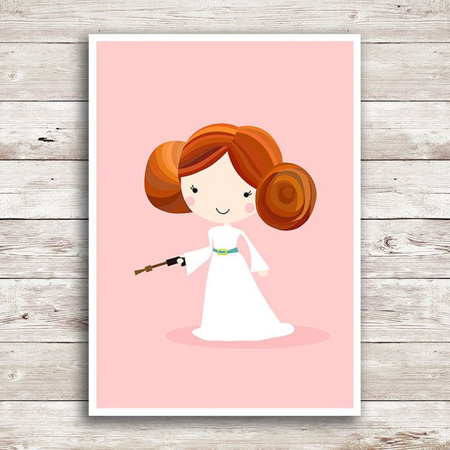 Poster Star Wars - Princesa Leia
