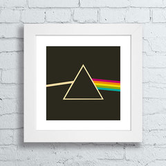 Quadro Pink Floyd Prisma - The Dark Side Of The Moon