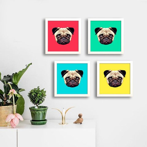 Kit Pug Colors - comprar online